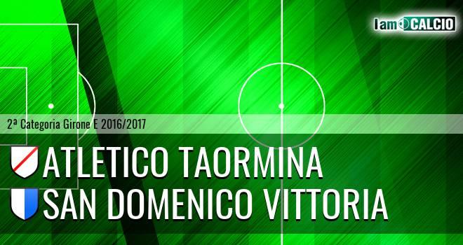 Atletico Taormina - San Domenica Vittoria