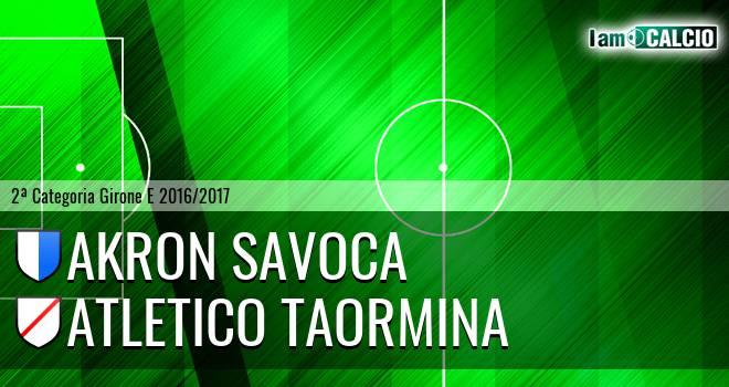 Akron Savoca - Atletico Taormina