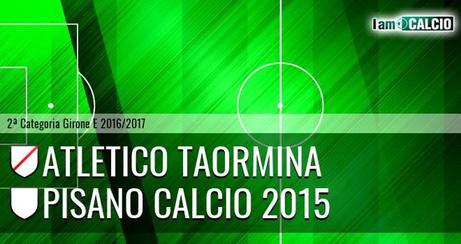 Atletico Taormina - Pisano Calcio 2015
