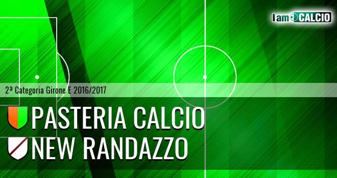 Pasteria Calcio - New Randazzo