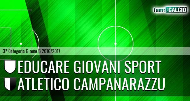 Educare Giovani Sport - Campanarazzu