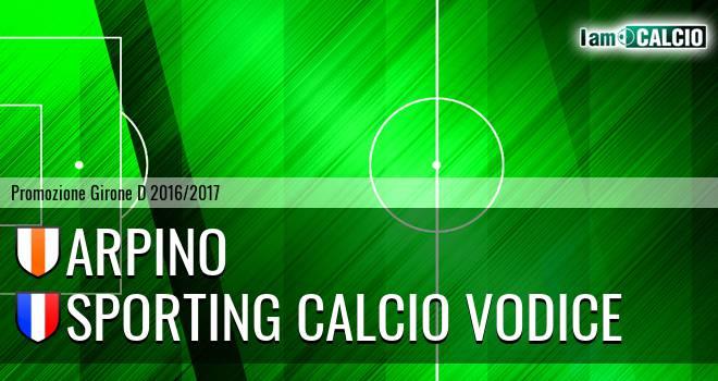 Arpino - Sporting Calcio Vodice