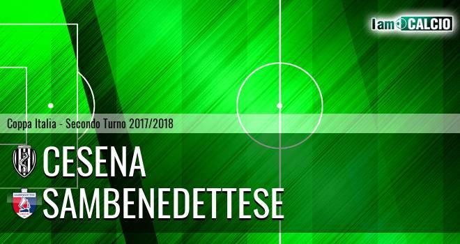Cesena - Sambenedettese