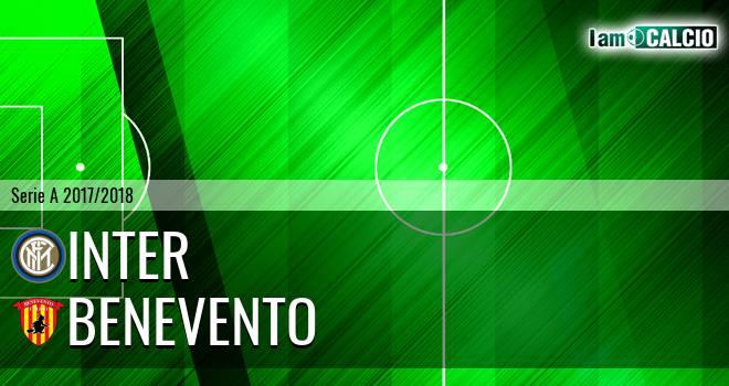 Inter - Benevento 2-0. Cronaca Diretta 24/02/2018