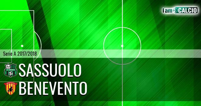 Sassuolo - Benevento 2-2. Cronaca Diretta 15/04/2018