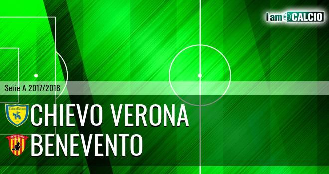 Chievo Verona - Benevento 1-0. Cronaca Diretta 20/05/2018