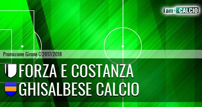 Forza e Costanza - Ghisalbese Calcio