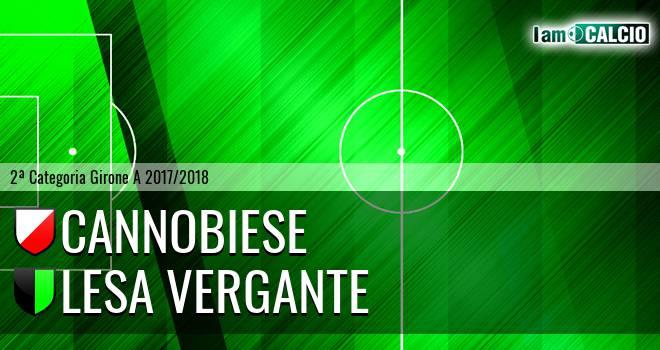 Cannobiese - Lesa Vergante