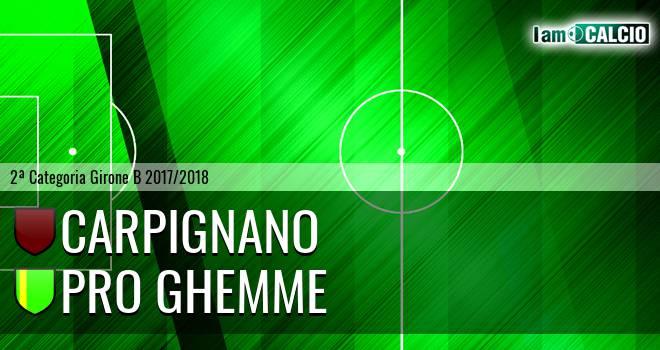 Carpignano - Pro Ghemme