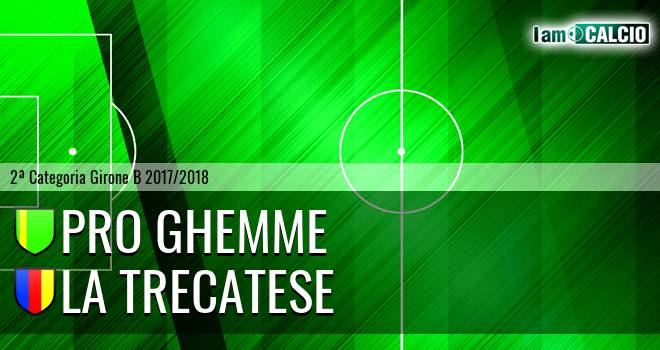 Pro Ghemme - La Trecatese