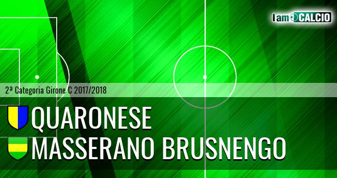 Quaronese - Masserano Brusnengo