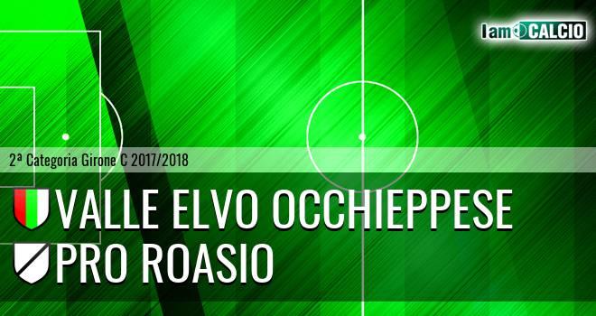 Valle Elvo Occhieppese - Pro Roasio
