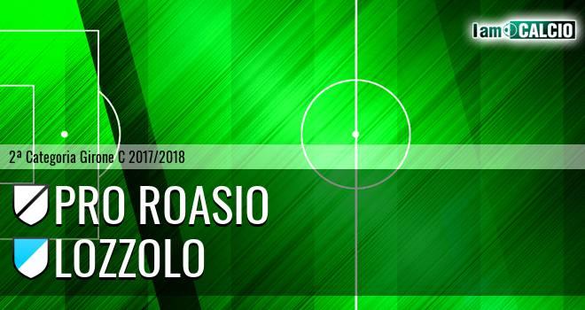 Pro Roasio - Lozzolo