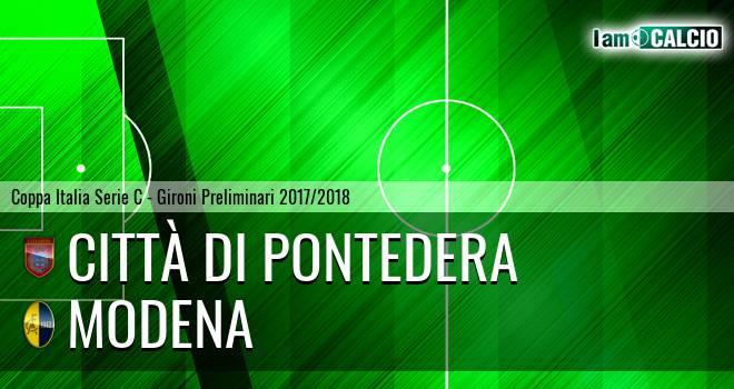 Città di Pontedera - Modena