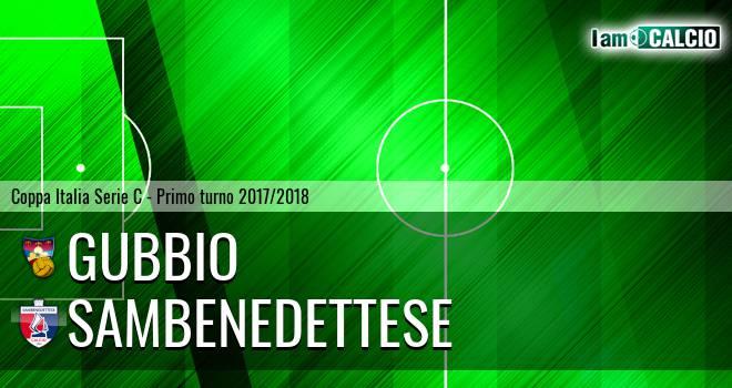 Gubbio - Sambenedettese