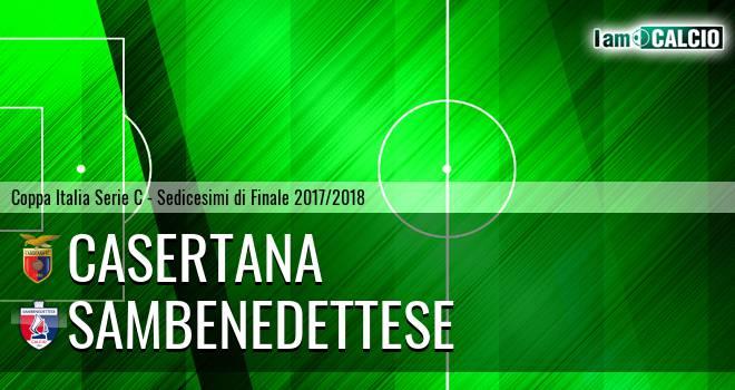 Casertana - Sambenedettese