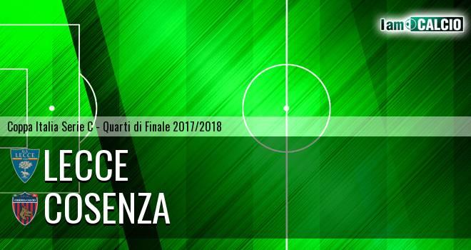 Lecce - Cosenza