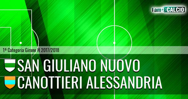 San Giuliano Nuovo - Canottieri Alessandria