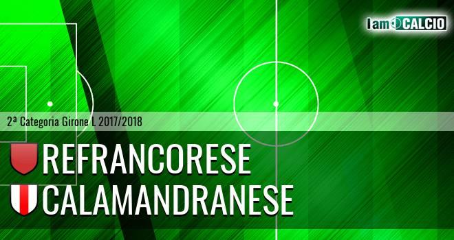 Refrancorese - Calamandranese