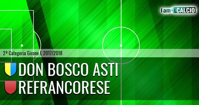 Don Bosco Asti - Refrancorese