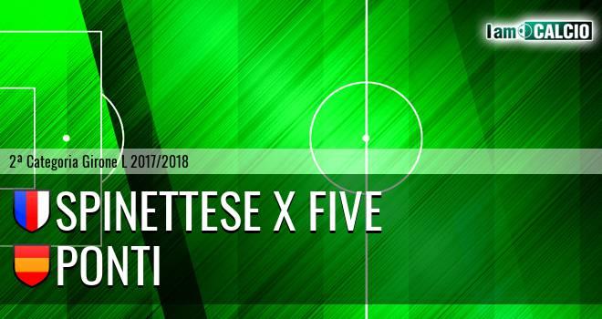 Spinettese X Five - Ponti
