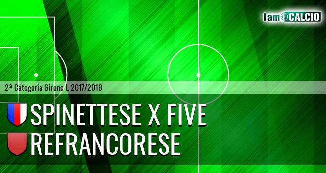 Spinettese X Five - Refrancorese