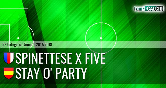 Spinettese X Five - Stay O' Party