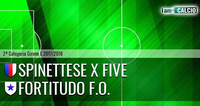 Spinettese X Five - Fortitudo F.O.