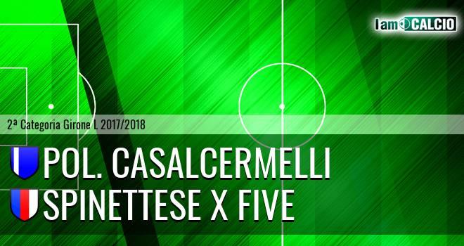 Pol. Casalcermelli - Spinettese X Five