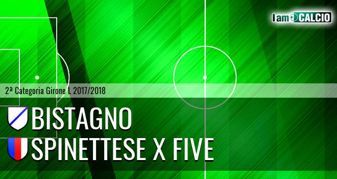 Bistagno - Spinettese X Five