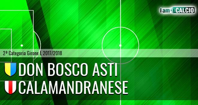 Don Bosco Asti - Calamandranese