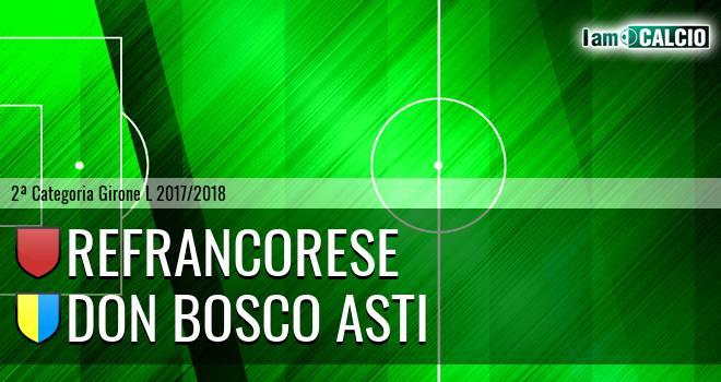 Refrancorese - Don Bosco Asti