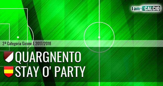 Quargnento - Stay O' Party