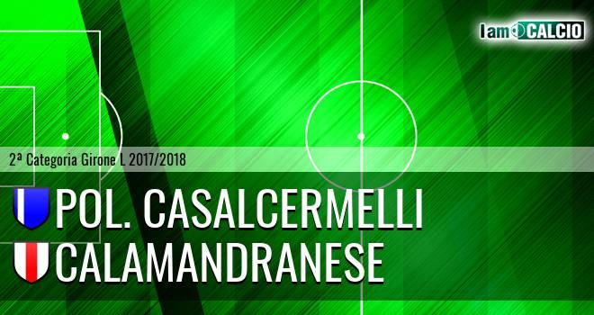 Pol. Casalcermelli - Calamandranese