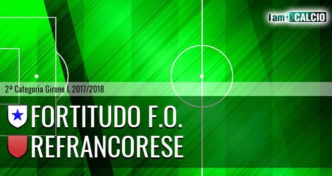 Fortitudo F.O. - Refrancorese