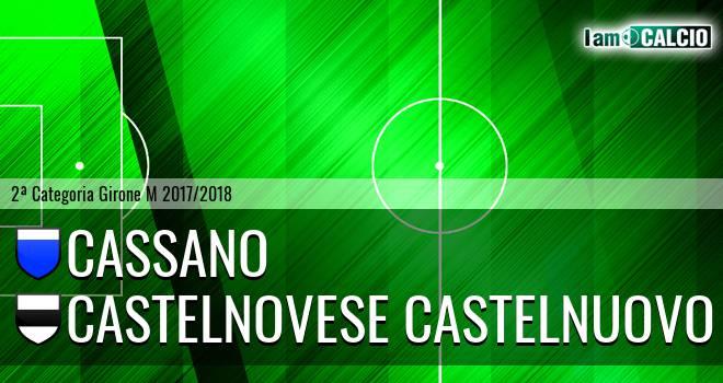 Cassano - Castelnovese Castelnuovo