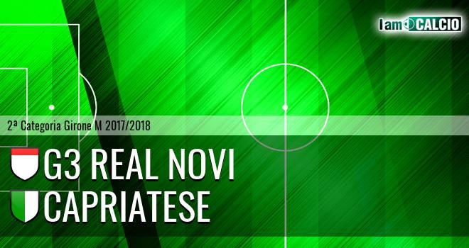 G3 Real Novi - Capriatese