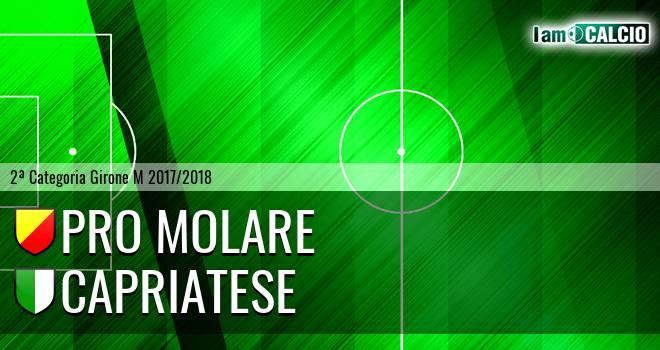 Pro Molare - Capriatese