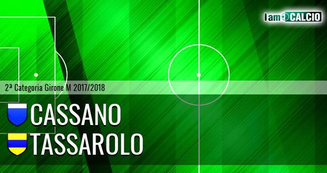 Cassano - Tassarolo