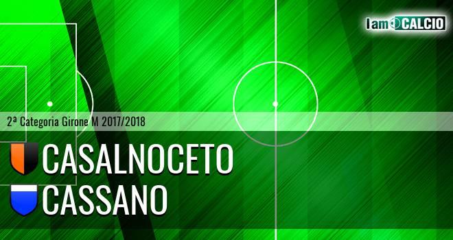 Casalnoceto - Cassano