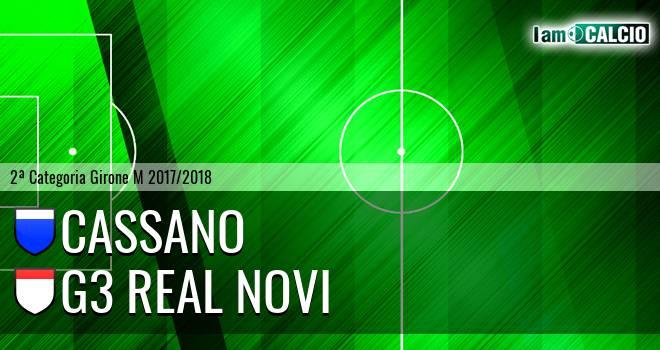 Cassano - G3 Real Novi