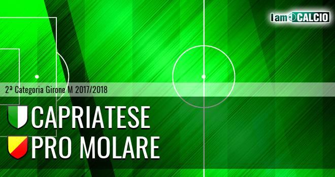 Capriatese - Pro Molare