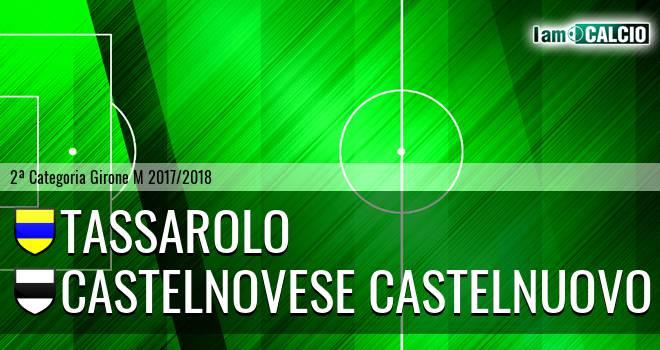 Tassarolo - Castelnovese Castelnuovo