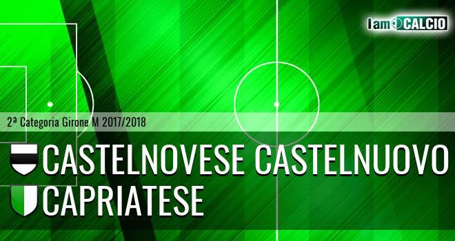 Castelnovese Castelnuovo - Capriatese