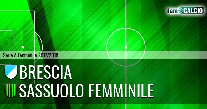 Brescia - Sassuolo Femminile