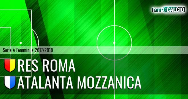 Res Roma - Atalanta Mozzanica