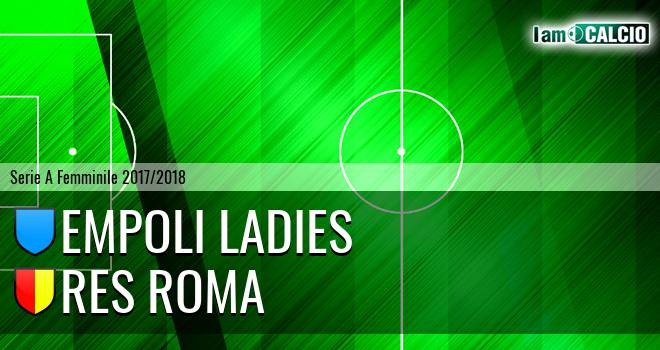 Empoli Ladies - Res Roma