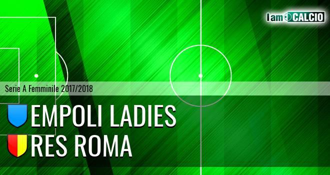 Empoli Ladies - Res Roma