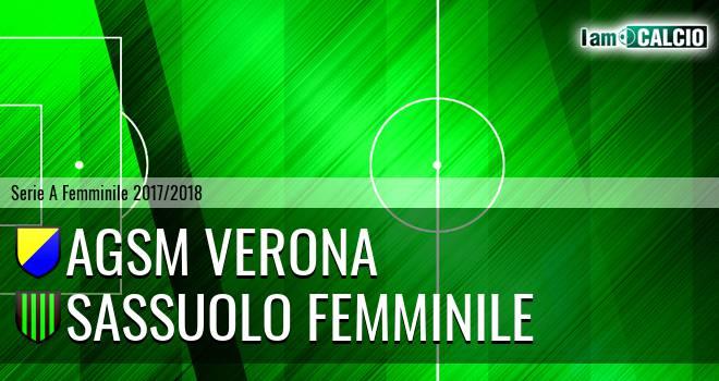AGSM Verona - Sassuolo Femminile