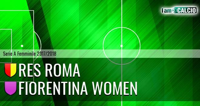 Res Roma - Fiorentina Women